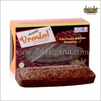 Brownies Dodol Kecil Toping Keju